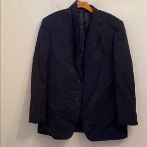 Brooks brothers black 3 button blazer jacket